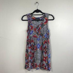 MINKPINK Mixed Print Babydoll Dress